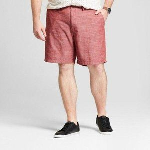Goodfellow & Co Linden 9″ Flat Front  Chino Shorts